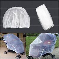 L/P kinderwagen Moskitonetz Insektenschutz Mückenschutz 150x180cm Weiß Neu