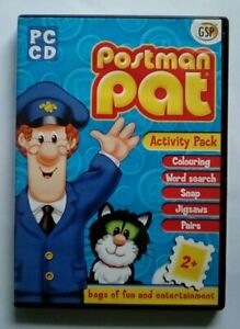 Postman Pat Activity Pack PC Educational Memory Words Co-Ordination Age 2+
