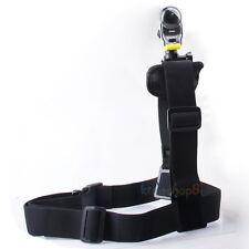 Black Single Shoulder Strap Mount for Sony Action Cam HDR-AS15/AS20/AS30V/AS100V