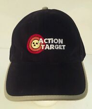 Action Target Embroidered Strapback Baseball Cap Hat Shooting Gun Sports