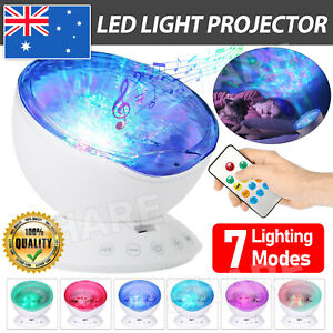 LED Night Light Projector Galaxy Starry Ocean Star Sky Baby Room Party Lamp Gift