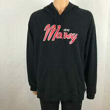 Rock Smith New Money Mens XXL Black Pullover Hoodie Red Letters Sweatshirt 2X