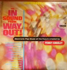 the in sound from the way out-perrey kingsley-electronic moog synth LP-israeli
