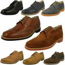 Mens Anatomic 'Tucano' Smart Brogue Detailed Shoes