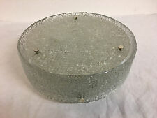 big Kaiser flush mount 40cm frosted plafonier lamp Ice glass Kalmar Ära