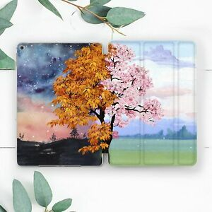 Two Seasons Nature Colored Tree Case For iPad 10.2 Pro 12.9 10.5 9.7 Air 3 Mini