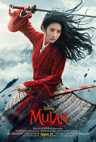 Mulan [2020 DVD movie] + FREE MOVIE POSTER