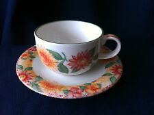 Royal Doulton Expressions Sunburst replacement china tea cup & saucer