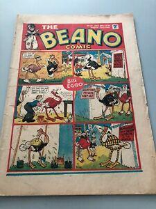 Rare Beano Comic 14 No14 #14 October 1938 Vtg Rare DC Thompson Dandy