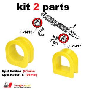 Opel Calibra, Kadett E steering rack mount bush kit SPORT