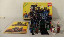(go1) Legoland 6085 BLACK Monarch´s CASTELLO CAVALIERE CON conf. ORIG. & BA 100%