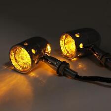 LED Amber Turn Signal Indicator Lights For Honda VTX 1300 C R RETRO VTX 1800 C R