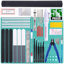 Keadic 55Pcs Professional Modeler Basic Tools Craft Set Hobby Building Tools Kit