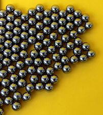 100 x  6 mm Stahlkugeln aus Carbonstahl für Steinschleuder hochwertig