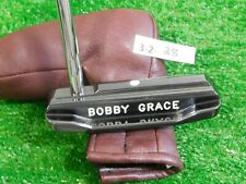 """Bobby Grace Face Balanced Bottom Cavity Soft Carbon Classic 36"""" Putter with HC"""