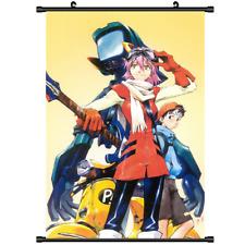 3522 Anime FLCL Haruhara Haruko Canvas Wall Poster Scroll