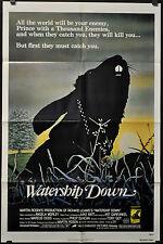 WATERSHIP DOWN 1978 ORIG 27X41 MOVIE POSTER JOHN HURT RICHARD BRIERS