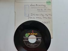 LOUIS ARMSTRONG You are woman i am man KAPP KV 502 VOGUE FRANCE PROMO RTL