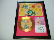 KATY PERRY   SIGNED  GOLD CD  DISC  1