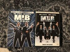 Men in black, Dvds, 1 & 2, Collectors Series and Full Screen Special Edition