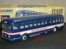 CORGI 54006 GM4507 WABASH RAILWAY CREW AMERICAN DIECAST MODEL COACH BUS