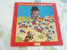 """Vintage Smurf Record """"Father Abraham In Smurfland"""""""