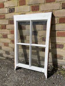 Reclaimed Old Georgian 4 Panel Wooden Window