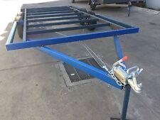BRAND NEW Trailer CHASSIS Tandem axle 12X8 DIY caravan car enclosed flat bed