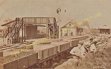 Garstang Town Railway Station Photo. Garstang & Knott End Railway. (8)