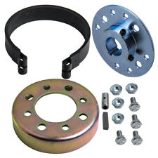 "4'' Go Kart Brake Band Kit Hub Drum Brake Band Pin For 1"" Axle Heavy Duty"