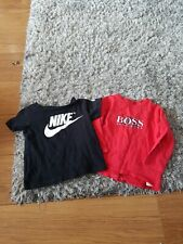 12&18 Month Boys Boss And Nike Tops