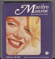 Alfonso Alcalde Marilyn Monroe Que Estas En El Cielo 1972 w/ Poster 102120DBT