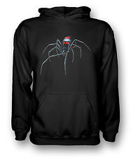 Black Widow Spider - Cool - Mens Hoodie