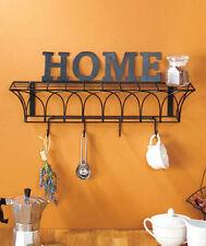 Vintage Wire Wall Shelves Home Kitchen Storage Bath Organizer Home Decor