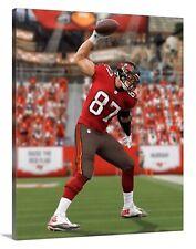 Rob Gronkowski Tampa Bay Buccaneers Canvas 16x20 Football Florida Gronk