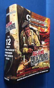 Commando P/B Graphic Novel-All Guns Blazing- 12 Comic Books Compilation,1st Edtn