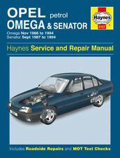 H3157 Opel Omega & Senator Petrol (Nov 1986 to 1994) Haynes Repair Manual
