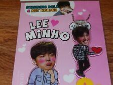Lee Min Ho MinHo Photo Standing Doll Key Holder Set KPOP Korea Actor Movie Drama
