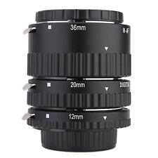 Meike-N-AF1-B Auto Focus Macro Extension Tube Set Ring for Nikon F6V8