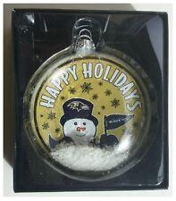 Baltimore Ravens NFL Albero di Natale Pupazzo Di Neve Palla Di Neve Decorazione
