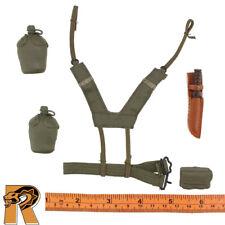 Belt Set w// Lots of Gear #1-1//6 Scale FJ Paratrooper 21 Toys Action Figures