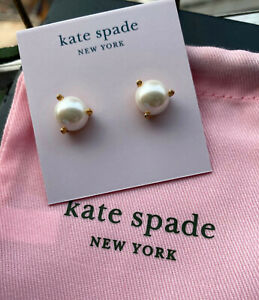 Kate Spade New York Rise and Shine Pearl Stud Earrings Blush Multi