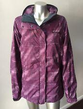Columbia Bugaboo Omni-tech Hooded Purple Interchange Waterproof Jacket Coat XL