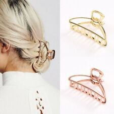Woman Hair Clip Claw Metal Girl Gift Accessories Crab Comb Gold Silver Hair Pin