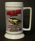 Mustang Club of America Race To Indy Beer Mug Coffee Cup 2009 National Show Vtg