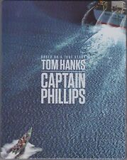 Captain Phillips - Steelbook (Blu-ray, Tom Hanks) A Fantastic Action Drama
