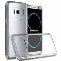 For Samsung Galaxy S8 Plus Case Clear Tpu Soft [ Anti-Scratch ] Back Cover