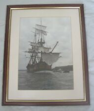 Framed photo print The HMS Endeavour 1997 Galleon Ship