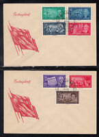 A 24 ) Germany East  DDR 1955  FDC - Leader of the German Workers' Movement