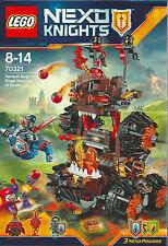 LEGO NEXO KNIGHTS 70321 GENERAL MAGMAR'S SIEGE MACHINE OF DOOM new nuovo Flama